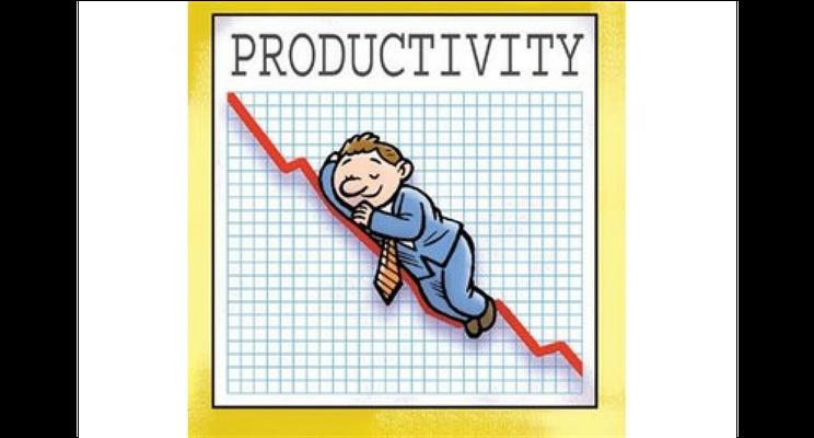 Productivity Drop